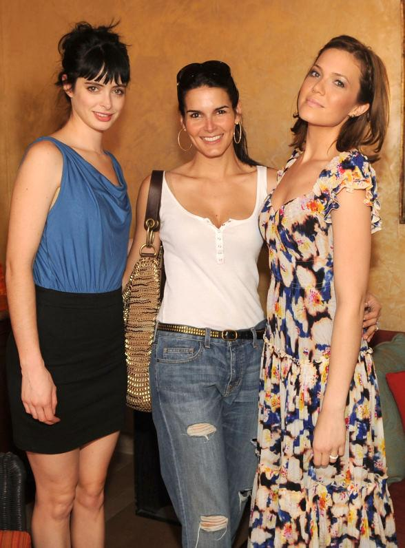 Krysten Ritter, Angie Harmon and Mandy Moore at TAO Beach