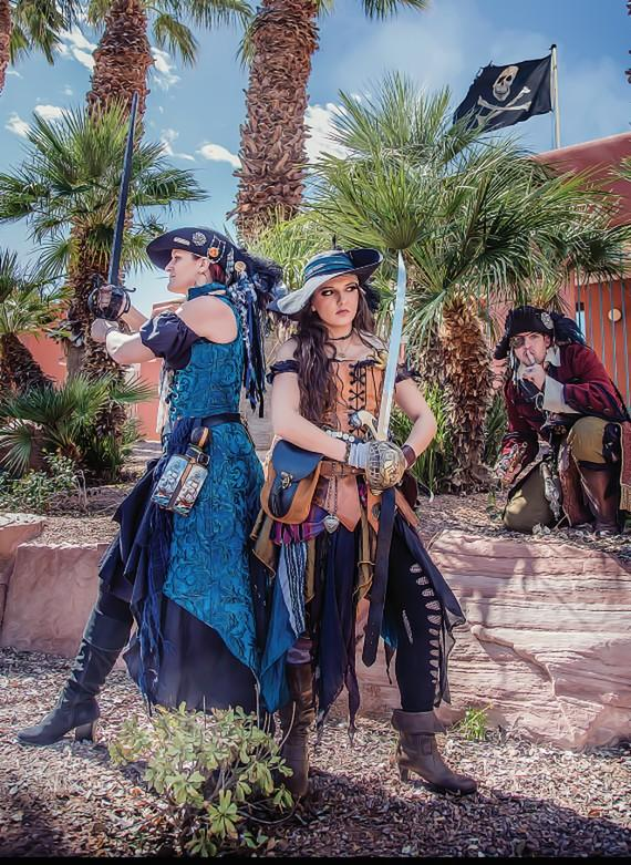 """Lady Defenders at """"Pirate Fest"""""""