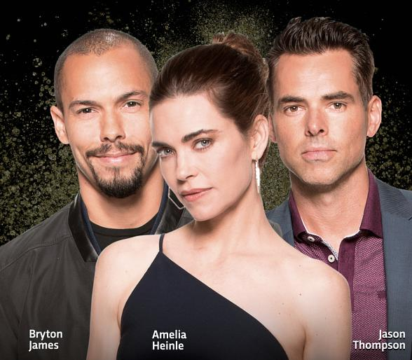 "Soap Opera Stars Jason Thompson, Amelia Heinle and Bryton James to Celebrate Mother's Day Weekend at ""the D Las Vegas Soap Opera Festival"" May 12"