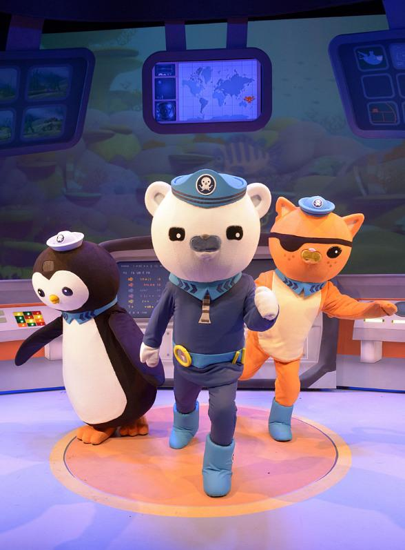 Octonauts First U.S. Theatre Tour Visits Cox Pavilion September 30