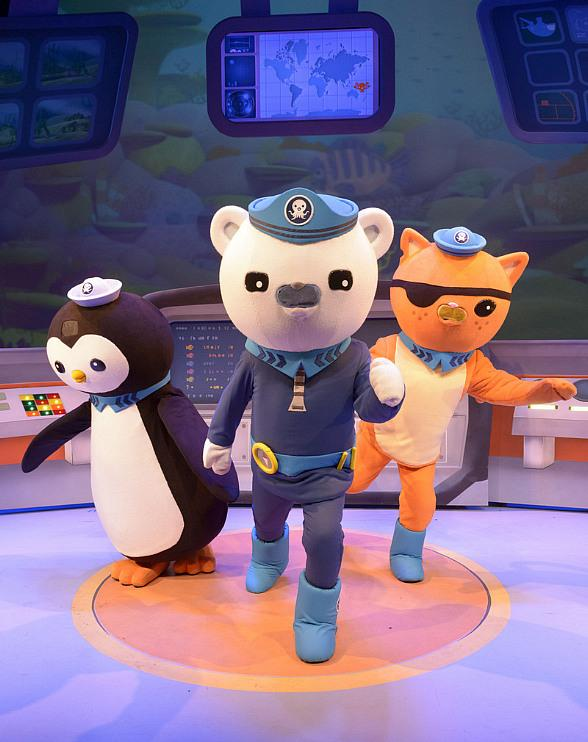 The Octonauts Dive into First U.S. Theatre Tour at Cox Pavilion Sept. 30