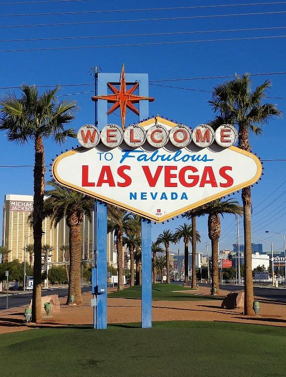 """""""Welcome to Las Vegas"""" Sign"""