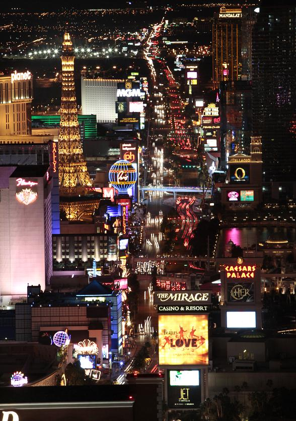 Las Vegas Welcomes Nearly 40 Million Visitors in 2013
