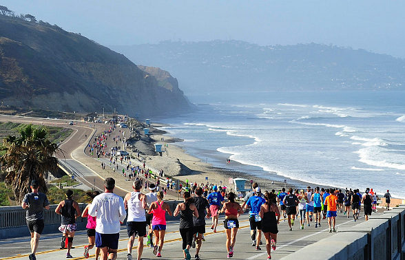 idrink CEO Neil Fineman Talks About Partnership with In Motion Events and the Importance of Hydration with Idrink's Nano Nutrient Water for All Athletes at La Jolla Marathon
