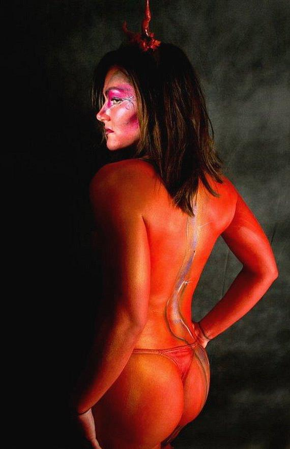 Body art by Suzanne Lugano