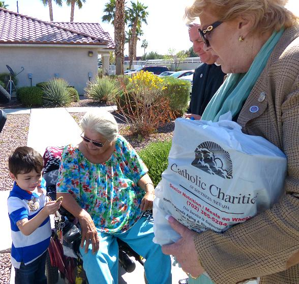 Fighting Senior Hunger: March for Meals Event to Raise Awareness for Meals on Wheels Program