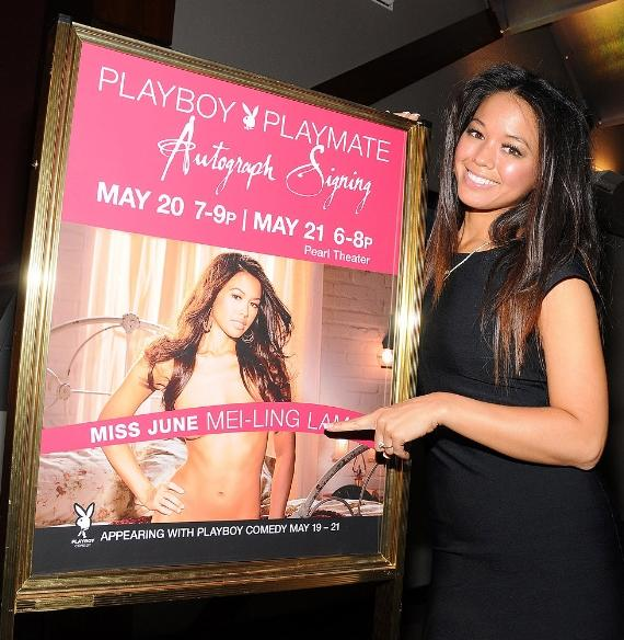 Playboy Playmate of the Month for June, Mei-Ling Lam