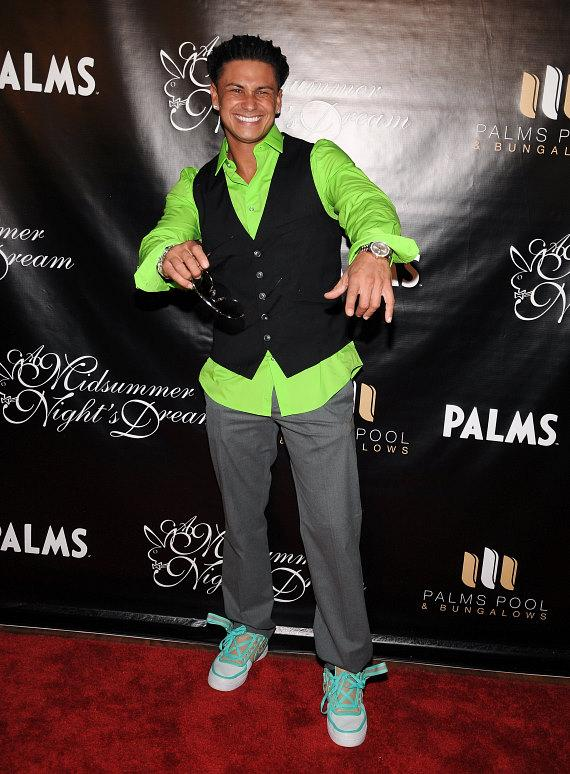 "DJ Pauly D on the Red Carpet at ""Midsummer Night's Dream"" Party at The Palms"