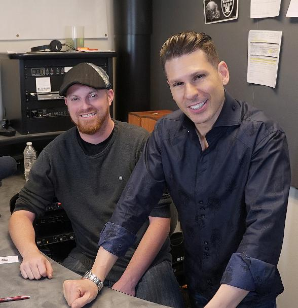 """Mike Hammer and Brian Shapiro will kick off """"The Vegas Take"""" July 9th at 2-4:00pm Saturdays on CBS Sports Radio 1140 and 107.5-3 FM HD3"""
