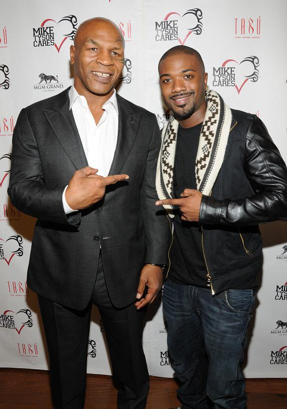 Mike Tyson and Ray J