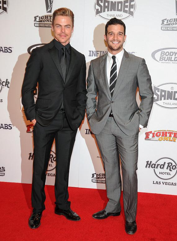 Dancers Derek Hough and Mark Ballas