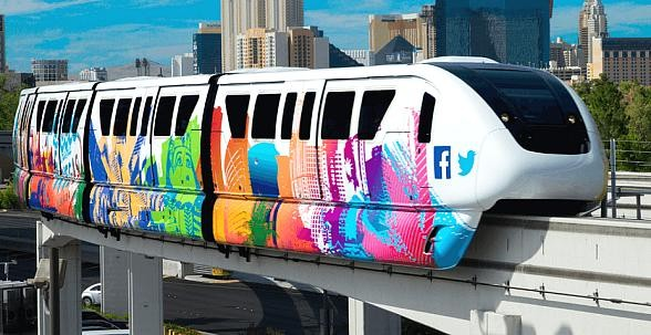 Celebrate National Train Day and World Cocktail Day May 13 with Monorail and High Roller Observation Wheel
