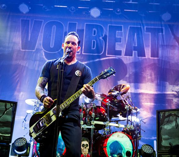 Volbeat performs at The Joint at Hard Rock Hotel & Casino in Las vegas