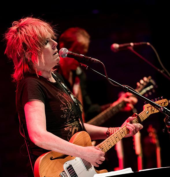 Lucinda Williams performs in Brooklyn Bowl Las Vegas at The LINQ