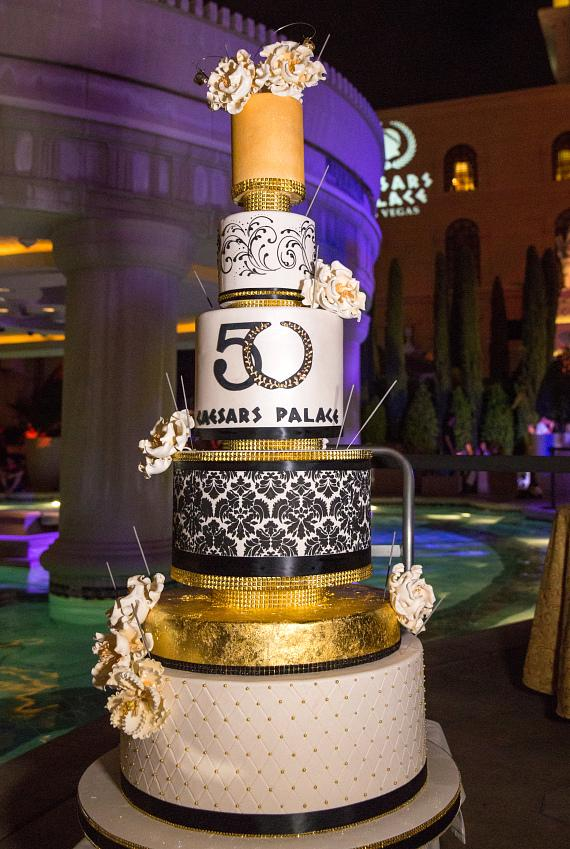 Caesars Palace Celebrates 50th Birthday With Pool Party