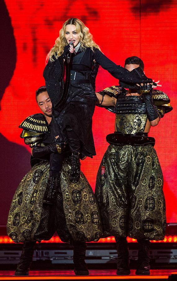 "Madonna's ""Rebel Heart Tour"" hits MGM Grand Garden Arena in Las Vegas"