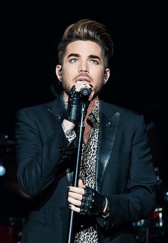 Adam Lambert performs at The Joint at Hard Rock Hotel & Casino