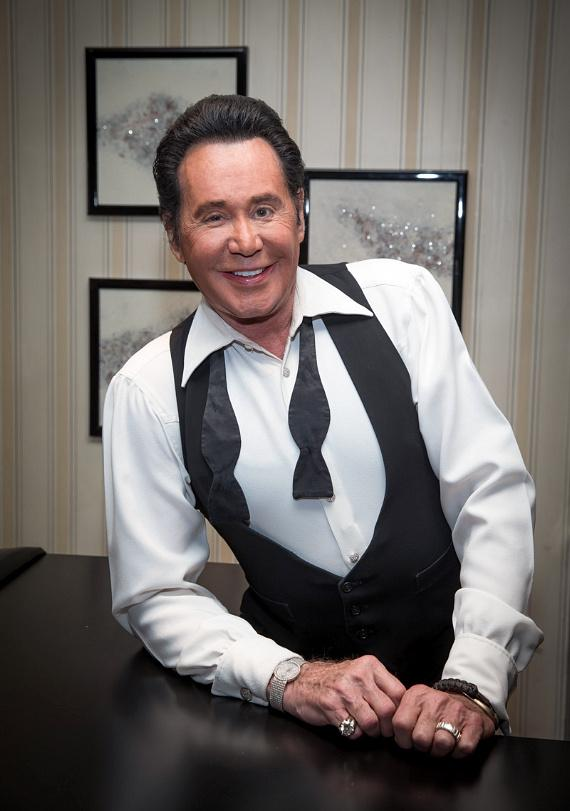 "Mr. Las Vegas Wayne Newton backstage at ""Wayne Newton: Up Close and Personal"" at Bally's Las Vegas"