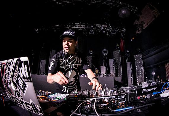Datsik performs at Brooklyn Bowl Las Vegas at The LINQ
