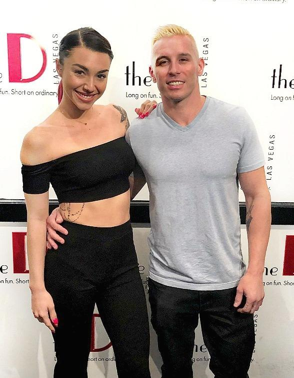 """MTV's Kailah Casillas and Rapper Mikey P Solve Mysteries at """"Marriage Can Be Murder"""" at the D Las Vegas"""