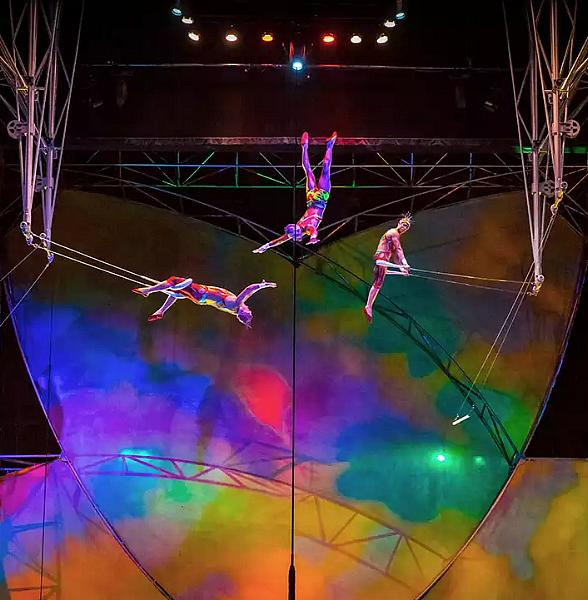 "Enjoy Open Rehearsals at ""Mystère by Cirque Du Soleil"" Now Every Saturday at Treasure Island Hotel & Casino Beginning April 21"