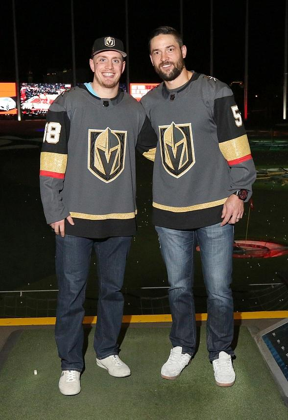 Vegas Golden Knights Players Spotted Dining at Andiamo After