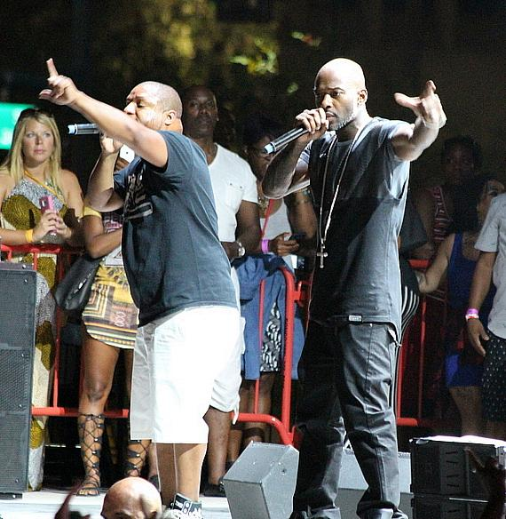 Naughty By Nature performs at DLV Events Center in Las Vegas