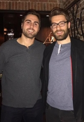 ** Exclusive ** NHL Players Alex Tuch and Ian McCoshen Dine at Andiamo Italian Steakhouse
