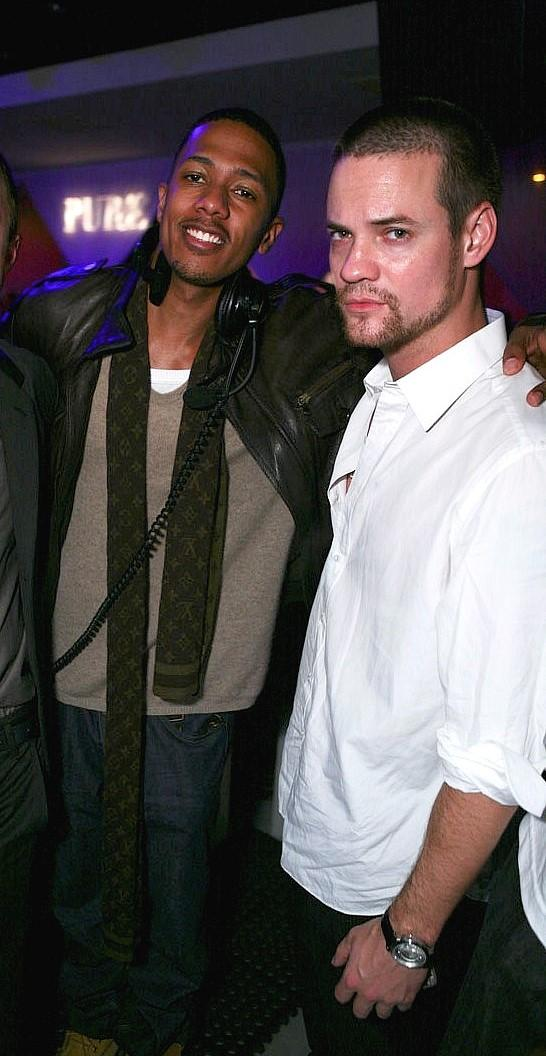 Nick Cannon and Shane West at PURE Nightclub (Photo courtesy of PURE Nightclub)