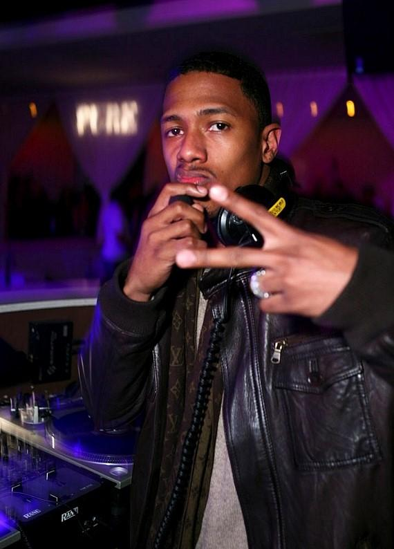 Nick Cannon at PURE Nightclub (Photo courtesy of PURE Nightclub)