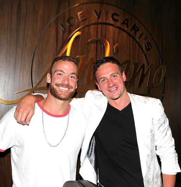 12-Time Olympic Medalist, Ryan Lochte, Celebrates Birthday at Andiamo Italian Steakhouse in Las Vegas