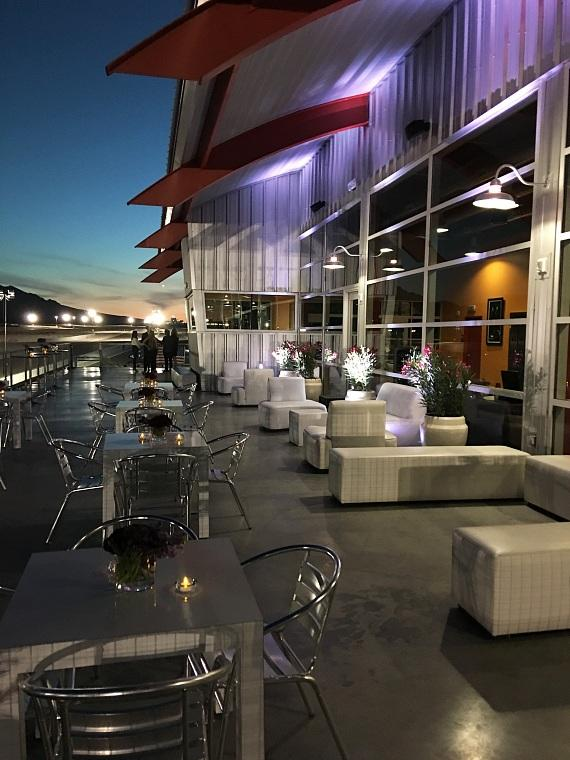 Outside Terrace at SPEEDVEGAS