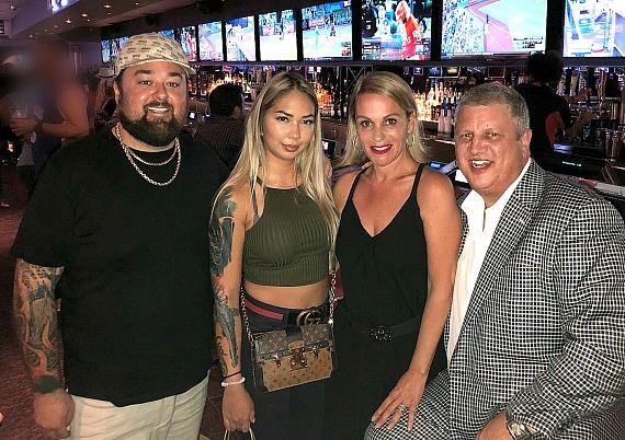 """Chumlee of """"Pawn Stars"""" and Fiancée, Olivia, Dine at Andiamo Italian Steakhouse in Las Vegas"""