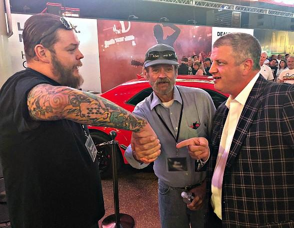 Pawn Stars' Corey Harrison Negotiates Deal with 'Demon' Muscle Car Contest Winner at the D Las Vegas