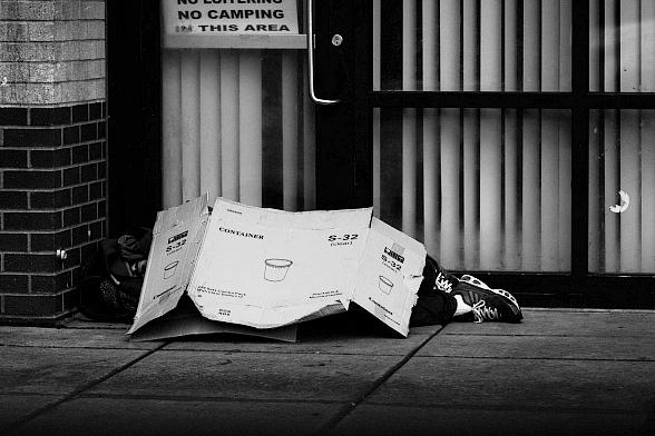 It is Illegal to Feed the Homeless in Las Vegas