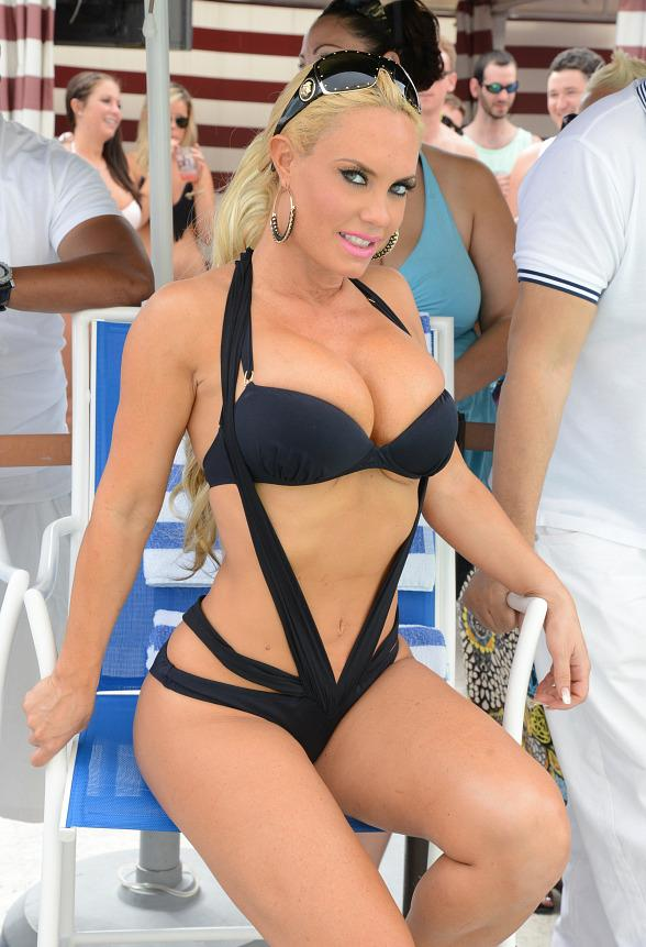Coco & Ice T host Pleasure Pool Bikini Contest Finale at Planet Hollywood