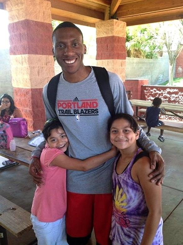 NBA Guard Nolan Smith Visits the Lied Memorial Boys & Girls Club