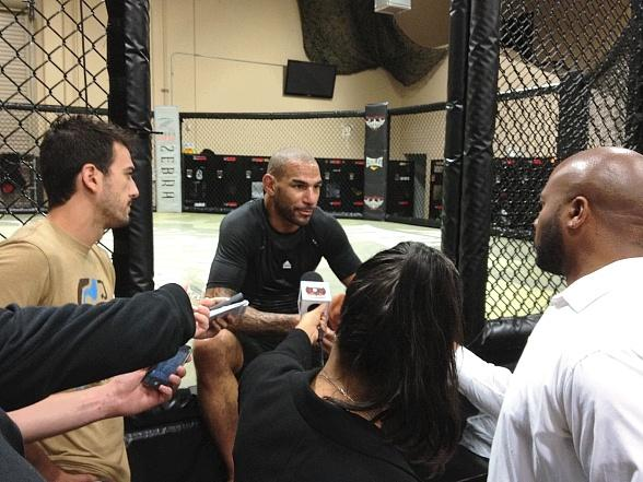 Jay 'The Thoroughbred' Hieron on his 'Dream Return' to UFC
