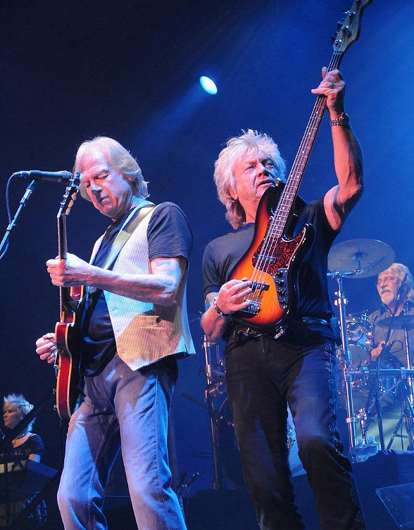 The Moody Blues perform at The Joint at Hard Rock Hotel in Las Vegas