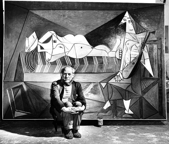 Jeff Mitchum Galleries Unveils Rare Portraits of Picasso in Secret World War II Studio
