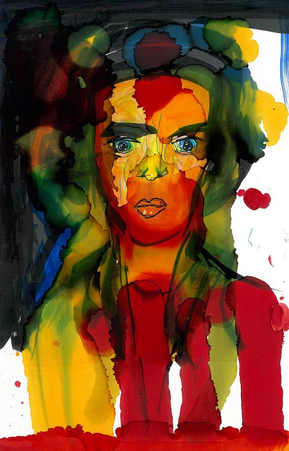 """""""Principessa"""" by Sir Anthony Hopkins, available at Jeff Mitchum Galleries"""