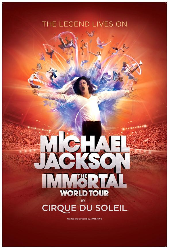 "Cirque du Soleil Announces ""Michael Jackson THE IMMORTAL World Tour"""