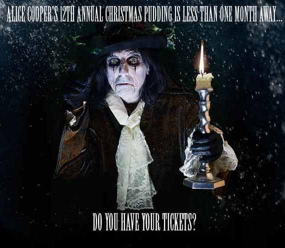 Murray will be hosting Alice Cooper's Christmas Pudding in Phoenix, Arizona at the Comerica Theatre December 8, 2012, performing with Alice Cooper, Johnny Depp, Don Felder, LA Guns, and Orianthi for his Solid Rock Foundation.