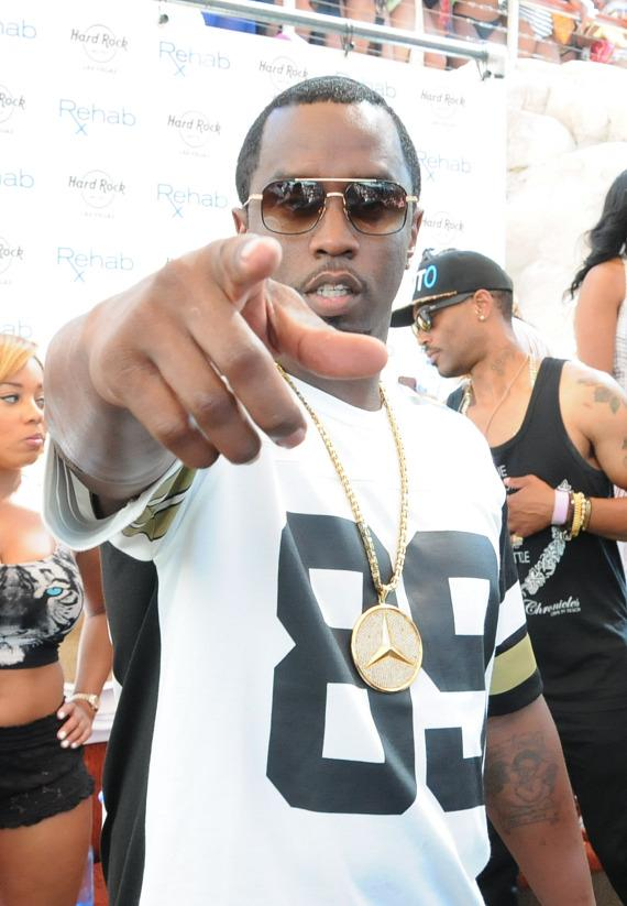Puff Daddy at REHAB at Hard Rock Hotel & Casino in Las Vegas