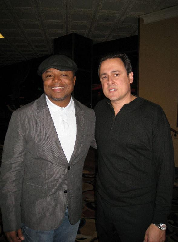 Randy Jackson and Angelo Giordano the Producer of Voices