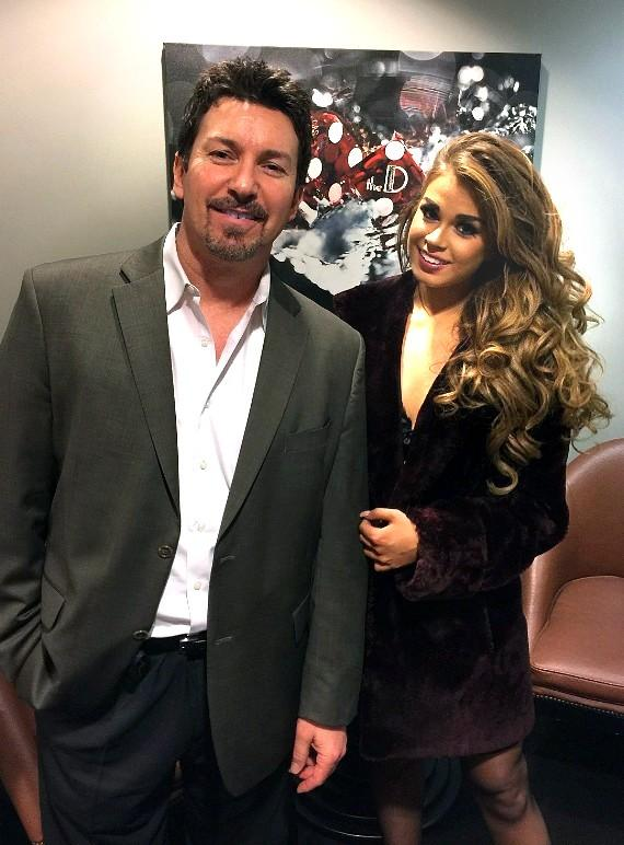 Director Richard Wilk with Miss United States 2015 Summer Priester