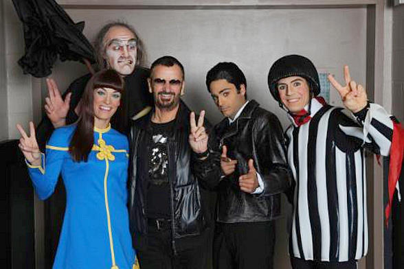 The Beatles LOVE by Cirque du Soleil Commemorates 4th Anniversary with Ringo Starr