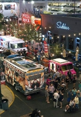 """Third Thursday on 3rd"" at the Downtown Grand Las Vegas Hotel & Casino Returns August 17th with Five Gourmet Food Trucks, Secret Walls Epic Live Art Competition, DJ, Games and More"
