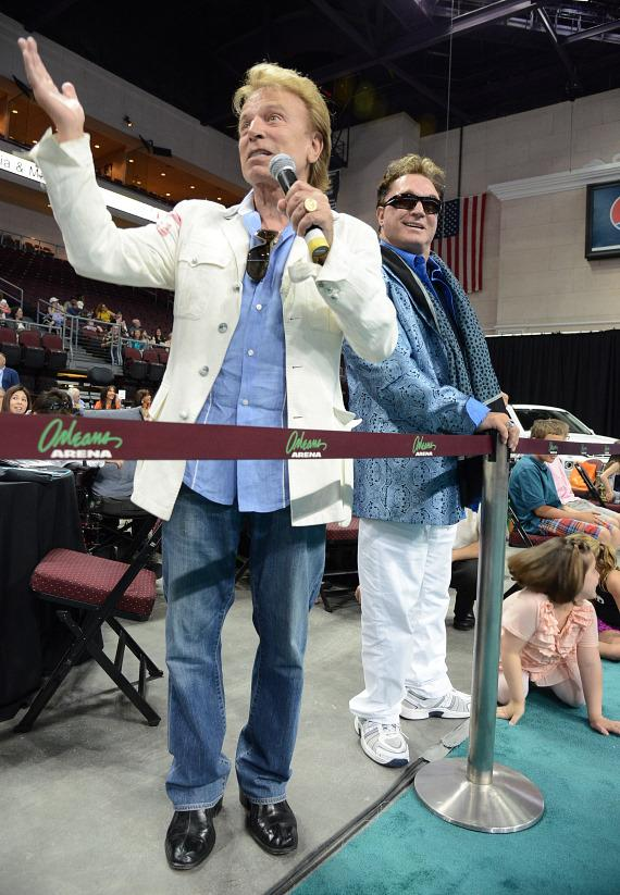 "Siegfreid and Roy at The Animal Foundation's 10th Annual ""Best In Show"""