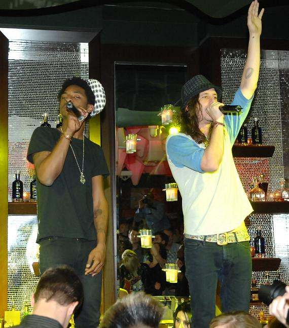Shwayze performs at Blush Boutique Nightclub